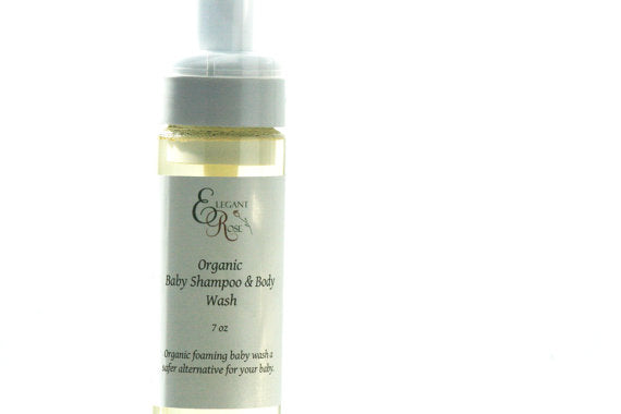 Organic Baby Shampoo & Body Wash