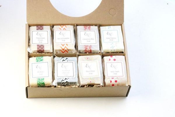 Holiday Soap Sampler Gift, Sampler Gift, Hostess Gift