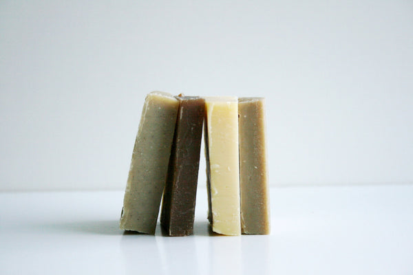 Solid Shampoo Bar - Sampler Set of 4 - Clear Naturals