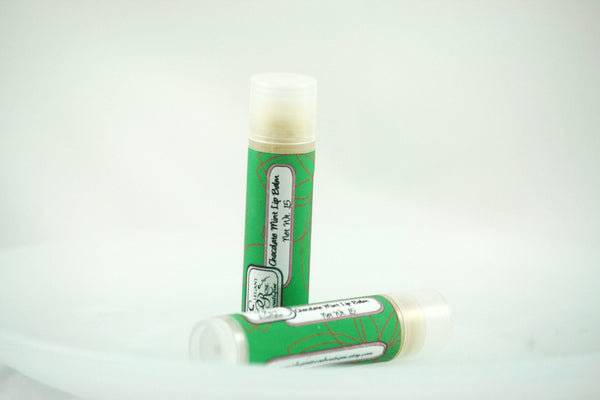 Chocolate Mint Lip Balm - Clear Naturals