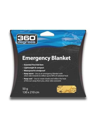 Buy 360degrees Emergency Blanket NZ | NZ's Best Trail Running and Crossfit | Highbeam.co.nz - Get out there and go for a run!