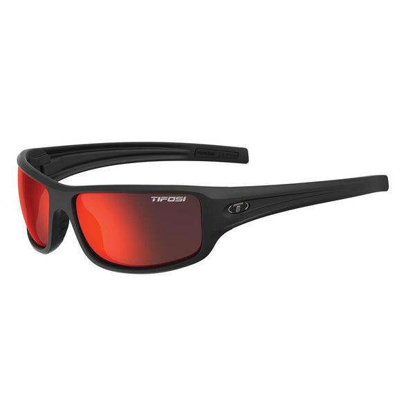 Buy Tifosi Bronx Clarion Red Polarized - Matte Black NZ | NZ's Best Trail Running and Crossfit | Highbeam.co.nz - Get out there and go for a run!