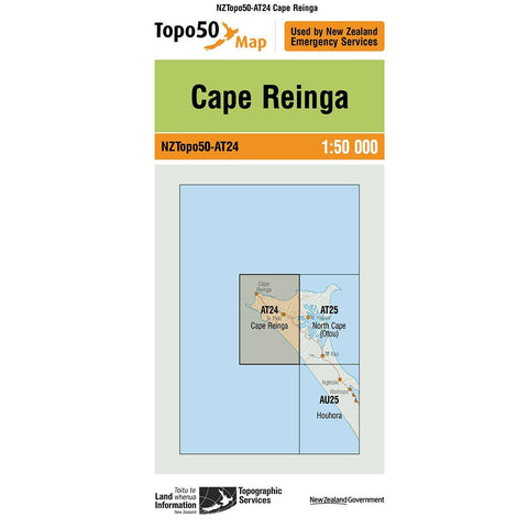 Topo50 AT24 Cape Reinga