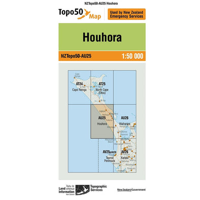 Buy Topo50 AU25 Houhora NZ | NZ's Best Trail Running and Crossfit | Highbeam.co.nz - Get out there and go for a run!