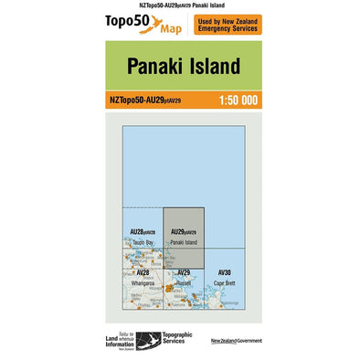 Buy Topo50 AU29 Panaki Island NZ | NZ's Best Trail Running and Crossfit | Highbeam.co.nz - Get out there and go for a run!