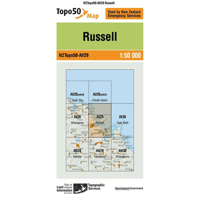 Buy Topo50 AV29 Russell NZ | NZ's Best Trail Running and Crossfit | Highbeam.co.nz - Get out there and go for a run!