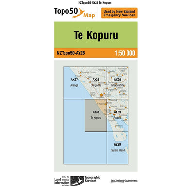 Buy Topo50 AY28 Te Kopuru NZ | NZ's Best Trail Running and Crossfit | Highbeam.co.nz - Get out there and go for a run!