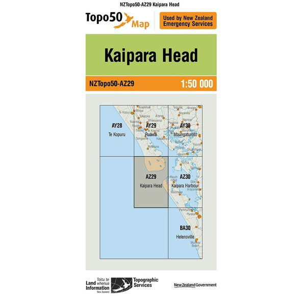 Buy Topo50 AZ29 Kaipara Head NZ | NZ's Best Trail Running and Crossfit | Highbeam.co.nz - Get out there and go for a run!