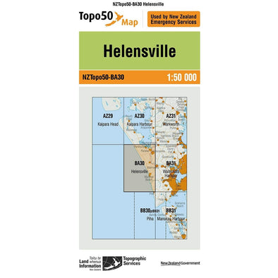 Buy Topo50 BA30 Helensville NZ | NZ's Best Trail Running and Crossfit | Highbeam.co.nz - Get out there and go for a run!