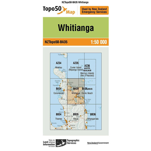 Buy Topo50 BA35 Whitianga NZ | NZ's Best Trail Running and Crossfit | Highbeam.co.nz - Get out there and go for a run!