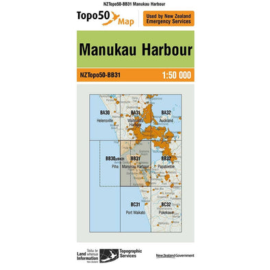 Buy Topo50 BB31 Manukau Harbour NZ | NZ's Best Trail Running and Crossfit | Highbeam.co.nz - Get out there and go for a run!