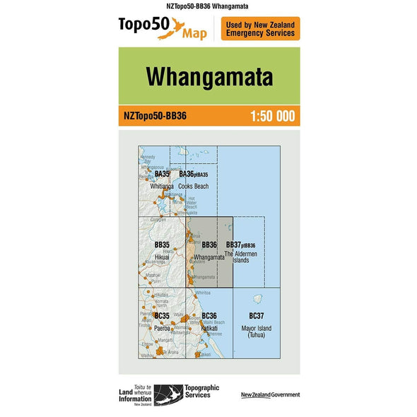 Buy Topo50 BB36 Whangamata NZ | NZ's Best Trail Running and Crossfit | Highbeam.co.nz - Get out there and go for a run!