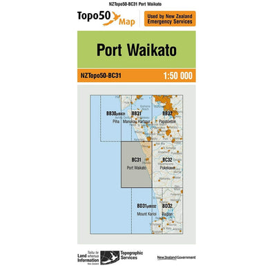 Buy Topo50 BC31 Port Waikato NZ | NZ's Best Trail Running and Crossfit | Highbeam.co.nz - Get out there and go for a run!
