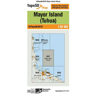 Buy Topo50 BC37 Mayor Island (Tuhua) NZ | NZ's Best Trail Running and Crossfit | Highbeam.co.nz - Get out there and go for a run!