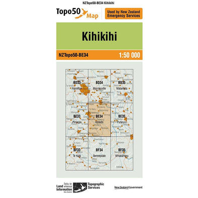 Buy Topo50 BE34 Kihikihi NZ | NZ's Best Trail Running and Crossfit | Highbeam.co.nz - Get out there and go for a run!