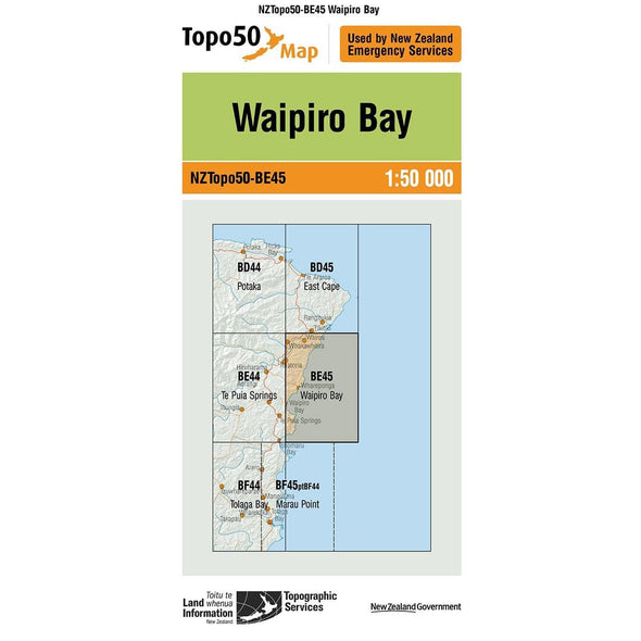 Buy Topo50 BE45 Waipiro Bay NZ | NZ's Best Trail Running and Crossfit | Highbeam.co.nz - Get out there and go for a run!