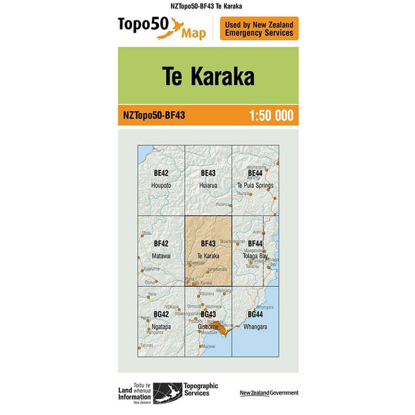 Buy Topo50 BF43 Te Karaka NZ | NZ's Best Trail Running and Crossfit | Highbeam.co.nz - Get out there and go for a run!