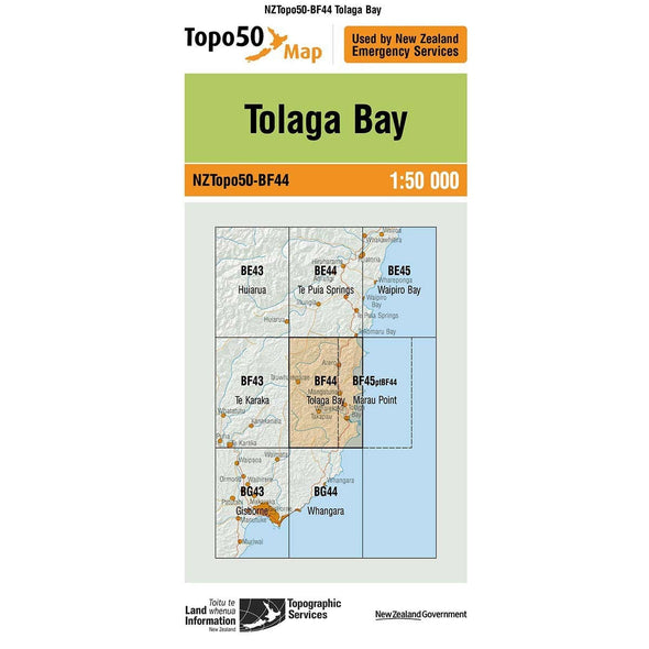 Buy Topo50 BF44 Tolaga Bay NZ | NZ's Best Trail Running and Crossfit | Highbeam.co.nz - Get out there and go for a run!