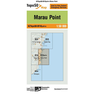 Buy Topo50 BF45 Marau Point NZ | NZ's Best Trail Running and Crossfit | Highbeam.co.nz - Get out there and go for a run!