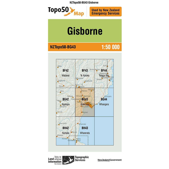 Buy Topo50 BG43 Gisborne NZ | NZ's Best Trail Running and Crossfit | Highbeam.co.nz - Get out there and go for a run!