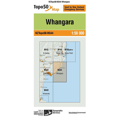 Buy Topo50 BG44 Whangara NZ | NZ's Best Trail Running and Crossfit | Highbeam.co.nz - Get out there and go for a run!
