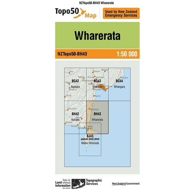 Buy Topo50 BH43 Wharerata NZ | NZ's Best Trail Running and Crossfit | Highbeam.co.nz - Get out there and go for a run!