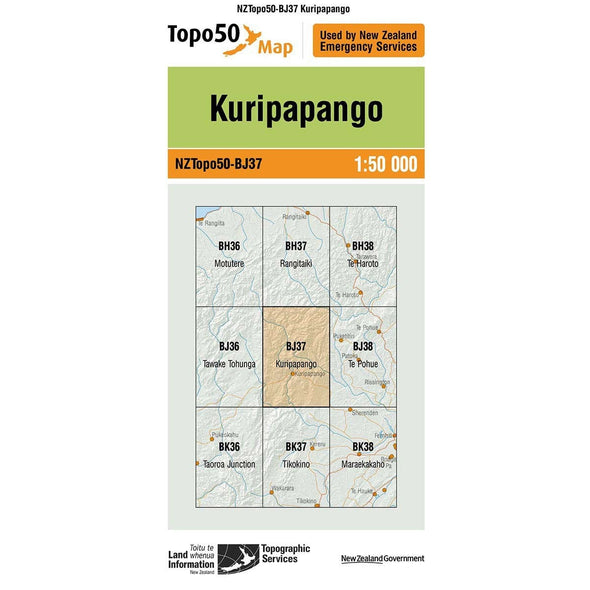 Buy Topo50 BJ37 Kuripapango NZ | NZ's Best Trail Running and Crossfit | Highbeam.co.nz - Get out there and go for a run!