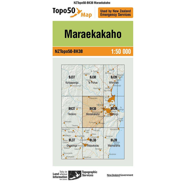 Buy Topo50 BK38 Maraekakaho NZ | NZ's Best Trail Running and Crossfit | Highbeam.co.nz - Get out there and go for a run!