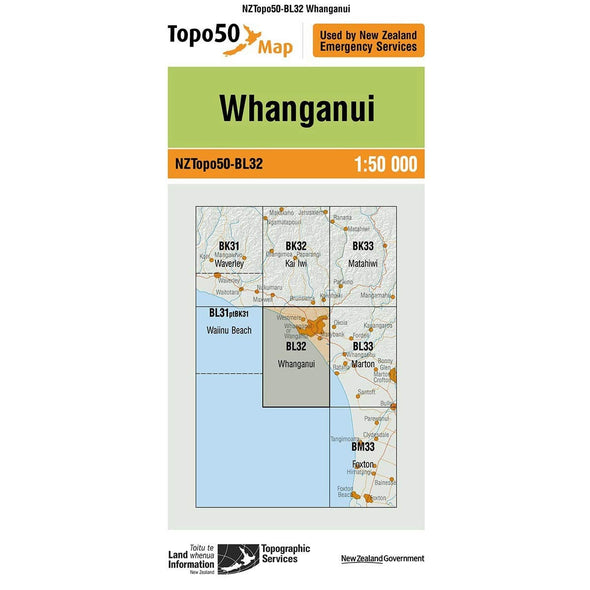 Buy Topo50 BL32 Wanganui NZ | NZ's Best Trail Running and Crossfit | Highbeam.co.nz - Get out there and go for a run!