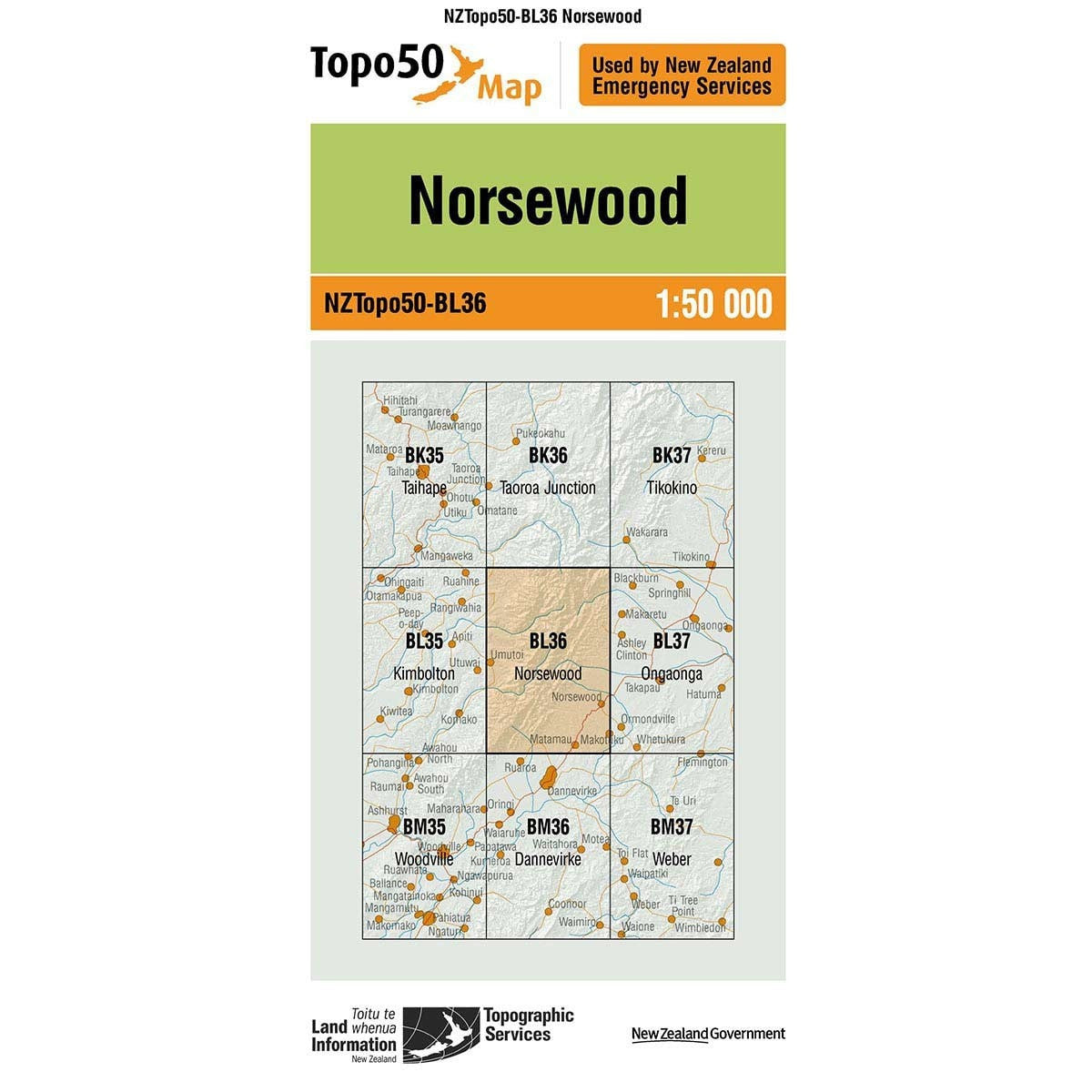 Topo50 BL36 Norsewood