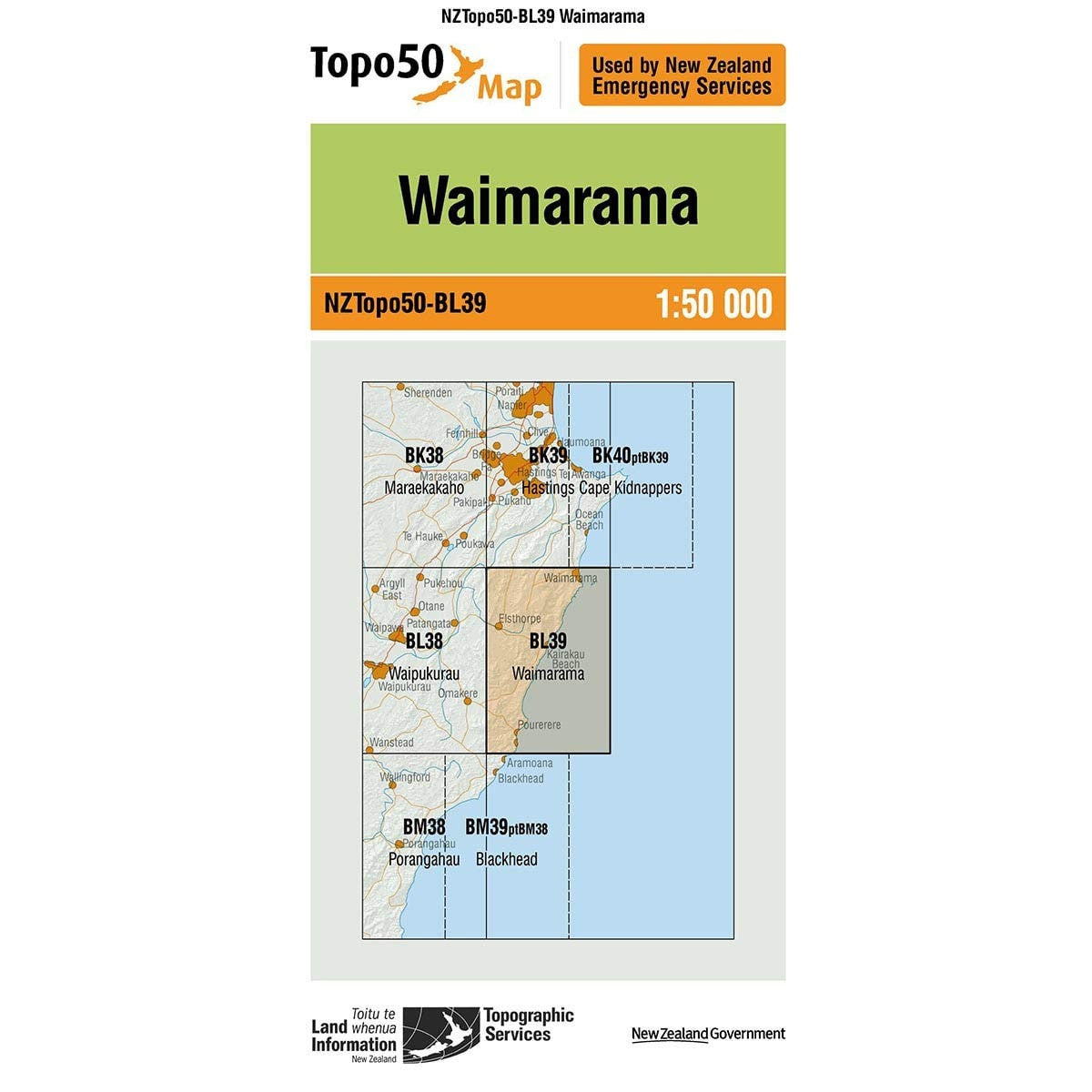 Buy Topo50 BL39 Waimarama NZ | NZ's Best Trail Running and Crossfit | Highbeam.co.nz - Get out there and go for a run!