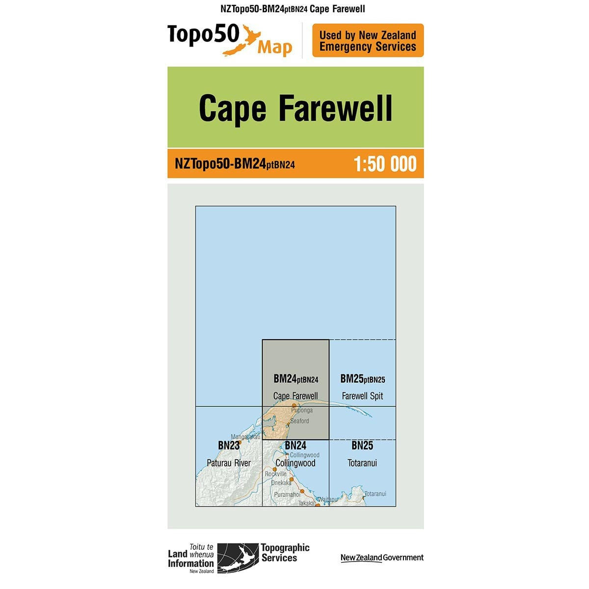 Buy Topo50 BM24 Cape Farewell NZ | NZ's Best Trail Running and Crossfit | Highbeam.co.nz - Get out there and go for a run!