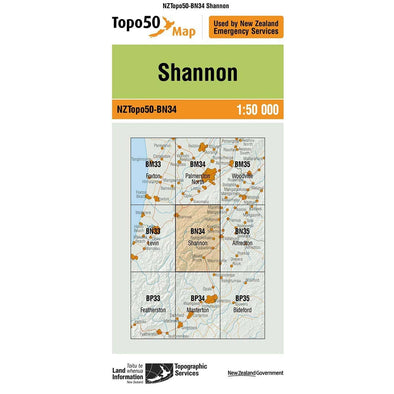 Buy Topo50 BN34 Shannon NZ | NZ's Best Trail Running and Crossfit | Highbeam.co.nz - Get out there and go for a run!