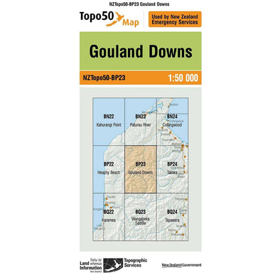 Buy Topo50 BP23 Gouland Downs NZ | NZ's Best Trail Running and Crossfit | Highbeam.co.nz - Get out there and go for a run!