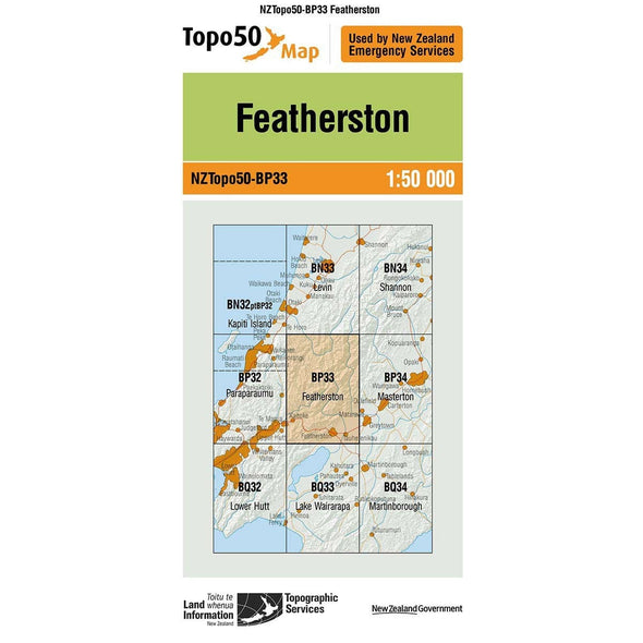 Buy Topo50 BP33 Featherston NZ | NZ's Best Trail Running and Crossfit | Highbeam.co.nz - Get out there and go for a run!