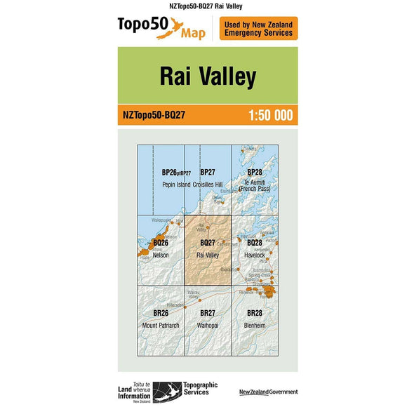 Buy Topo50 BQ27 Rai Valley NZ | NZ's Best Trail Running and Crossfit | Highbeam.co.nz - Get out there and go for a run!