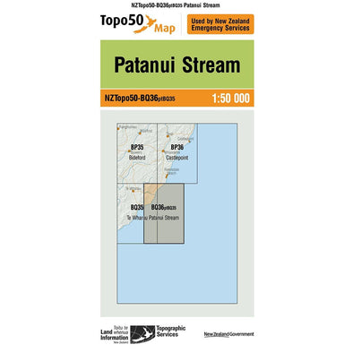 Buy Topo50 BQ36 Patanui Stream NZ | NZ's Best Trail Running and Crossfit | Highbeam.co.nz - Get out there and go for a run!