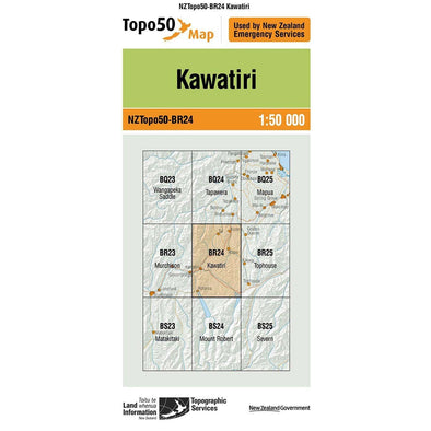 Buy Topo50 BR24 Kawatiri NZ | NZ's Best Trail Running and Crossfit | Highbeam.co.nz - Get out there and go for a run!