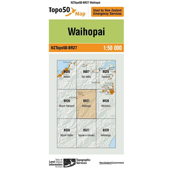 Buy Topo50 BR27 Waihopai NZ | NZ's Best Trail Running and Crossfit | Highbeam.co.nz - Get out there and go for a run!