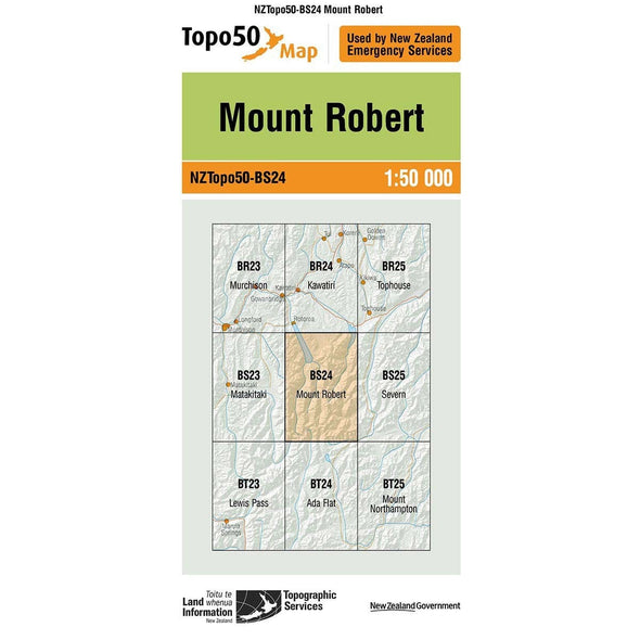 Buy Topo50 BS24 Mount Robert NZ | NZ's Best Trail Running and Crossfit | Highbeam.co.nz - Get out there and go for a run!