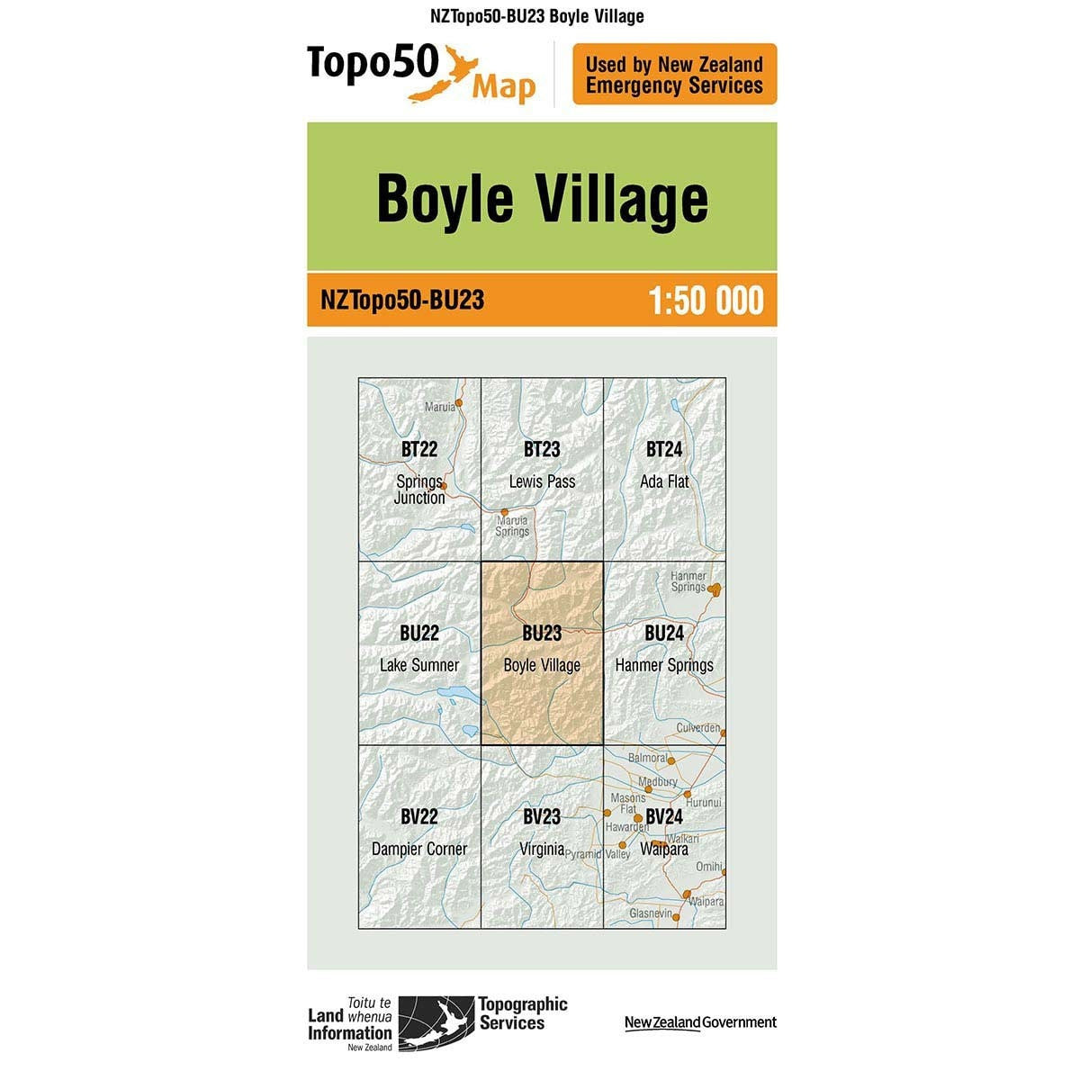 Buy Topo50 BU23 Boyle Village NZ | NZ's Best Trail Running and Crossfit | Highbeam.co.nz - Get out there and go for a run!