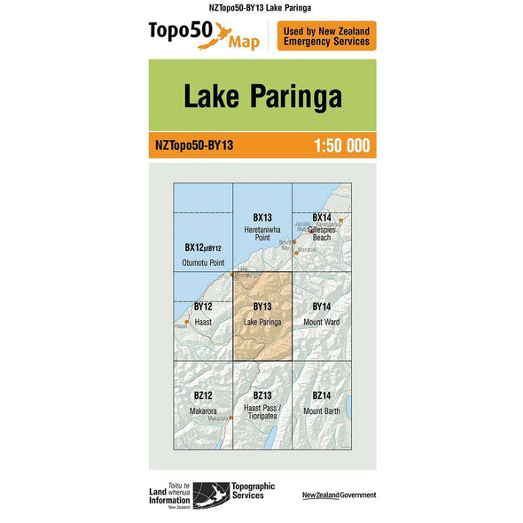 Buy Topo50 BY13 Lake Paringa NZ | NZ's Best Trail Running and Crossfit | Highbeam.co.nz - Get out there and go for a run!
