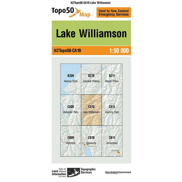 Buy Topo50 CA10 Lake Williamson NZ | NZ's Best Trail Running and Crossfit | Highbeam.co.nz - Get out there and go for a run!