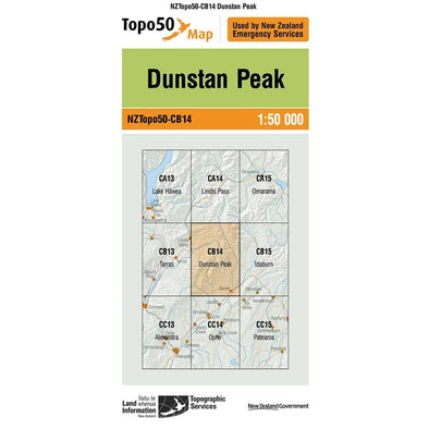 Buy Topo50 CB14 Dunstan Peak NZ | NZ's Best Trail Running and Crossfit | Highbeam.co.nz - Get out there and go for a run!