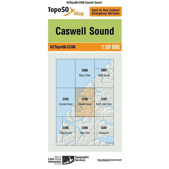 Buy Topo50 CC06 Caswell Sound NZ | NZ's Best Trail Running and Crossfit | Highbeam.co.nz - Get out there and go for a run!