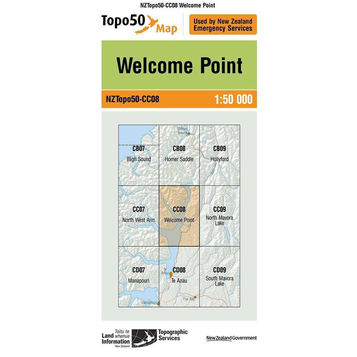 Topo50 CC08 Welcome Point