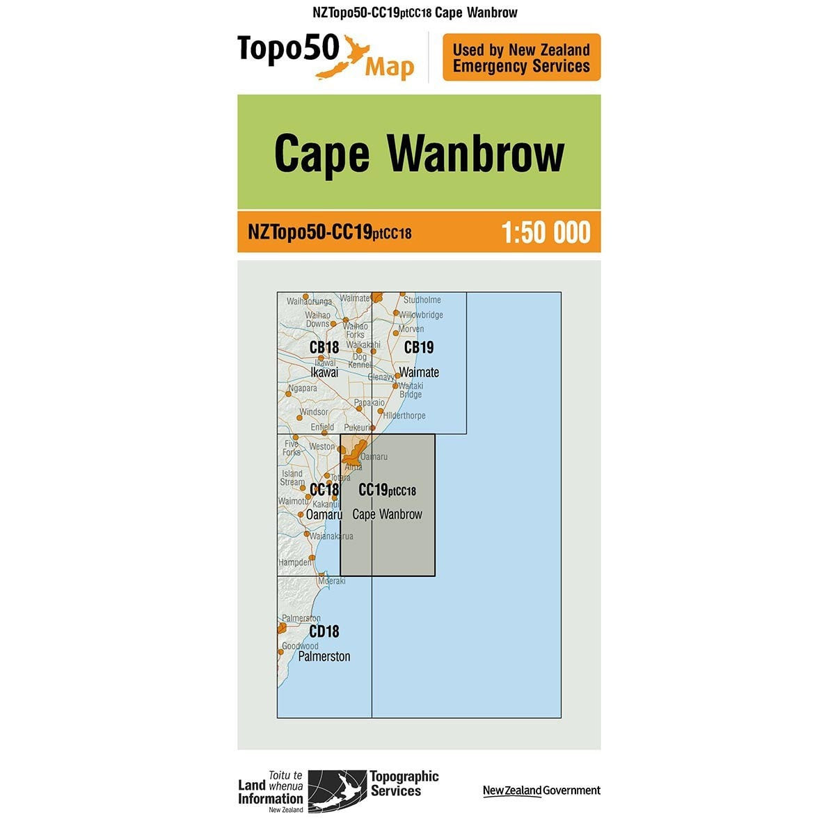Buy Topo50 CC19 Cape Wanbrow NZ | NZ's Best Trail Running and Crossfit | Highbeam.co.nz - Get out there and go for a run!