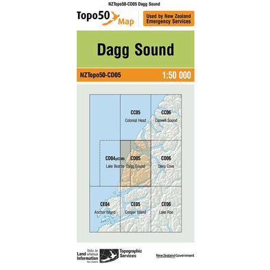 Buy Topo50 CD05 Dagg Sound NZ | NZ's Best Trail Running and Crossfit | Highbeam.co.nz - Get out there and go for a run!