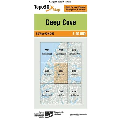 Buy Topo50 CD06 Deep Cove NZ | NZ's Best Trail Running and Crossfit | Highbeam.co.nz - Get out there and go for a run!