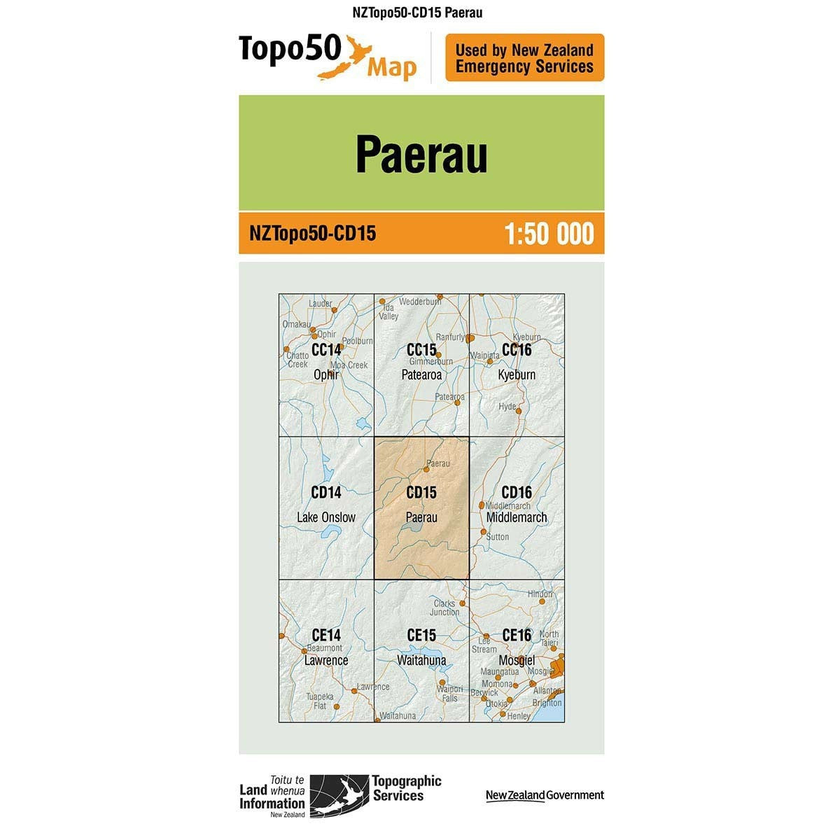 Buy Topo50 CD15 Paerau NZ | NZ's Best Trail Running and Crossfit | Highbeam.co.nz - Get out there and go for a run!
